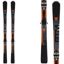 Sci Volkl Rtm 81 + attacchi Ipt Wr Xl 12 Tcx Gw nero-grigio-arancio