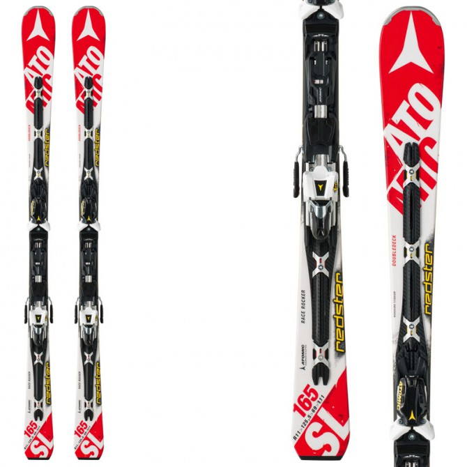 sci Atomic Redster Doubledeck 3.0 SL + attacchi X12 Tl ome