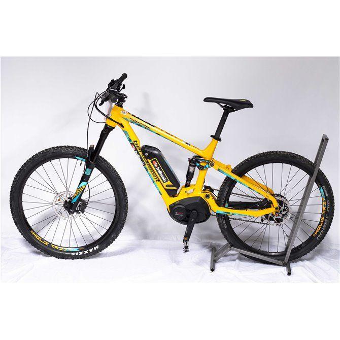 Bergamont E-Trailster 7.0 giallo azzurro