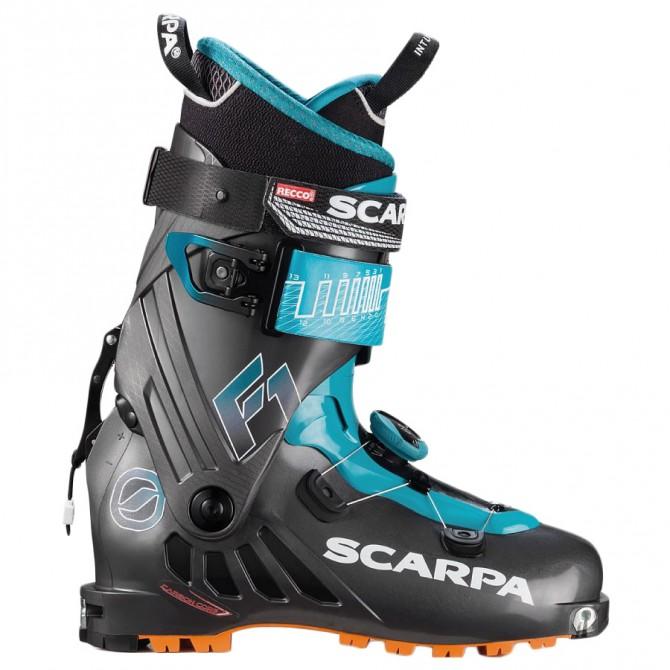 Mountaineering ski boots Scarpa F1