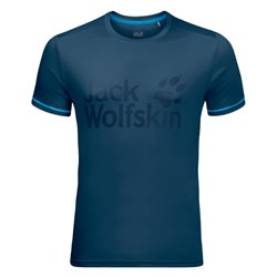 T-shirt Jack Wolfskin Sierra poseidon blue