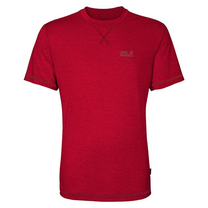 T-shirt Jack Wolfskin Crosstrail poseidon blue
