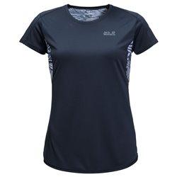 T-shirt Jack Wolfskin Wilderness aquamarine