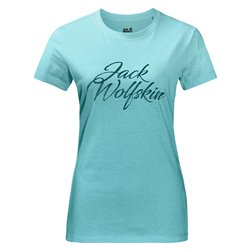 T-shirt Jack Wolfskin Brand midnight blue
