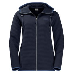 Fleece hooded jacket Jack Wolfskin Modesto