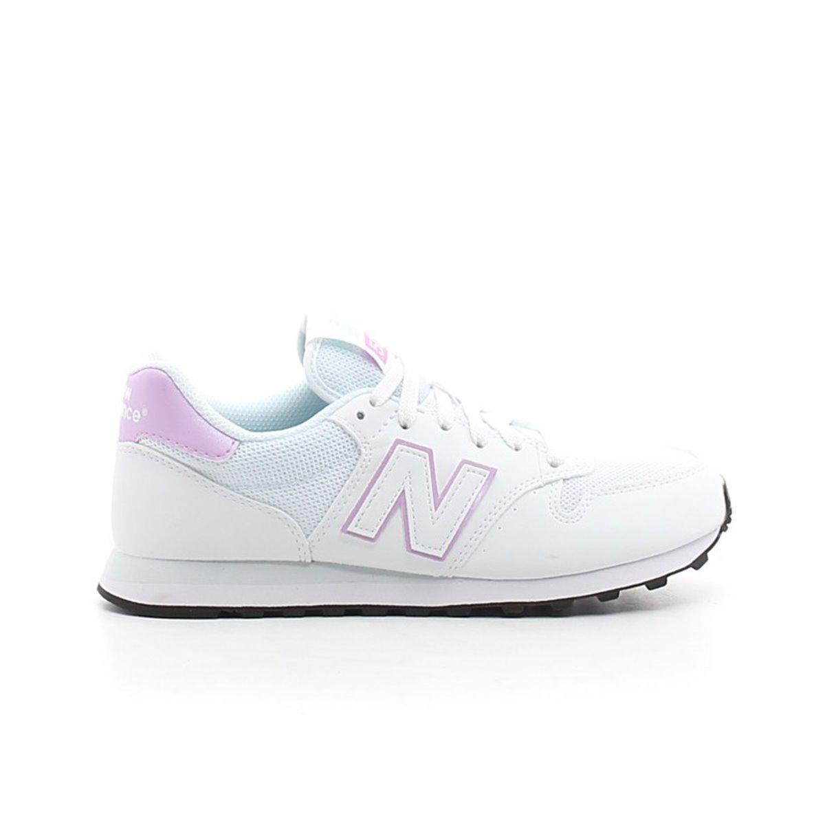 Scarpe New Balance 500 bianco rosa Bottero Ski