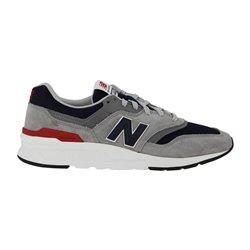 Sneakers New Balance 997 griigo-blu-rosso