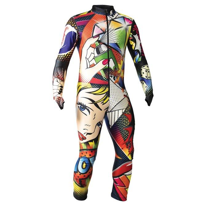 Tuta gara Energiapura Pop art pop multicolor