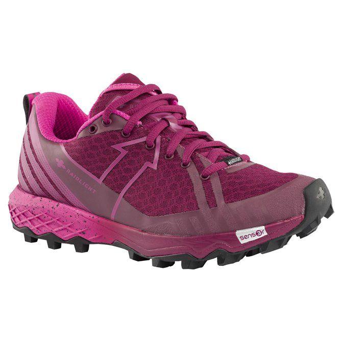 Scarpe Trail RaidlightResponsiv Dynamic pink-purple