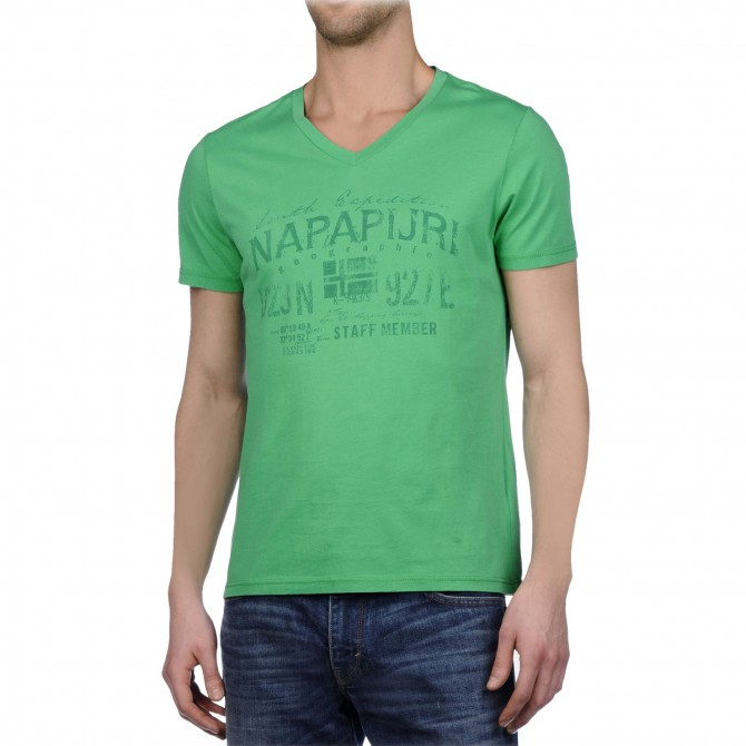 t-shirt Napapijri Selico Uomo