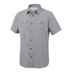 Utilize II Solid Short Sleeve Shirt Boulder