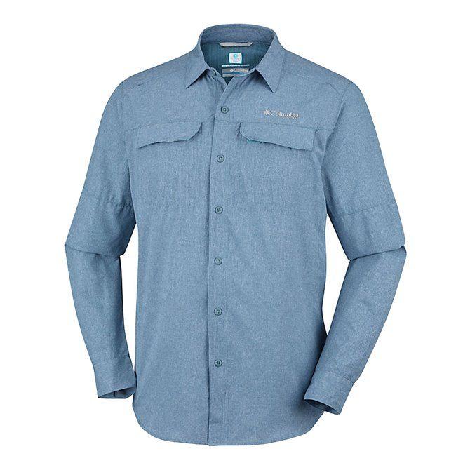 Irico Mens Long Sleeve Shirt Mountain Heathe