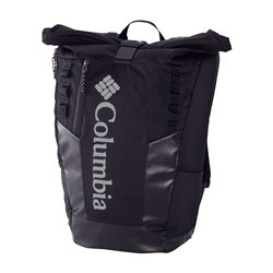 Convey 25L Rolltop Daypack Black, Black