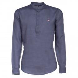 Camicia in lino Canottieri Portofino Blu