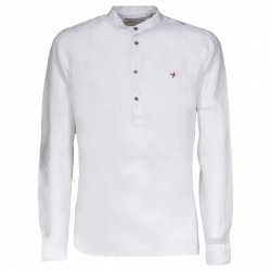Camisa de lino Canottieri Portofino Blanco