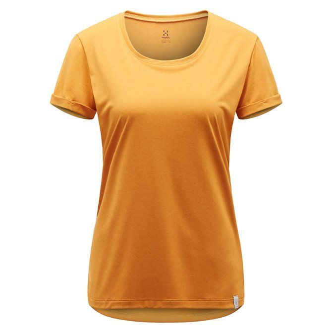T-shirt trekking Haglofs Ridge Q desert yellow