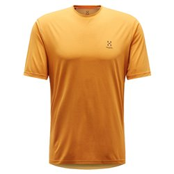 T-shirt trekking Haglofs Ridge desert yellow