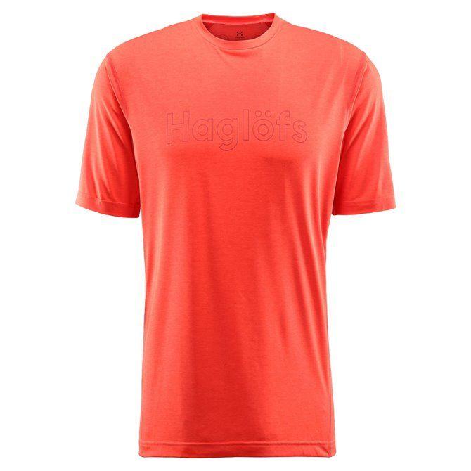 T-shirt trekking Haglofs Ridge desert yellow