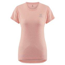 T-shirt trekking Haglofs Lim strive coral pink