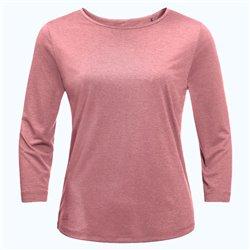 T-shirt Jack Wolfskin JWP rose quartz