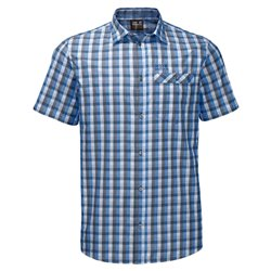 Maglia Jack Wolfskin Napo night blue checks