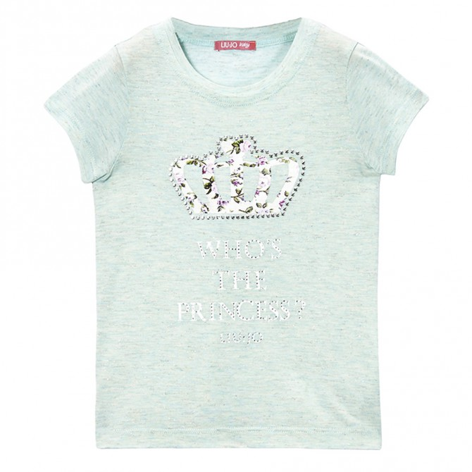 t-shirt Liu-Jo Princess Baby