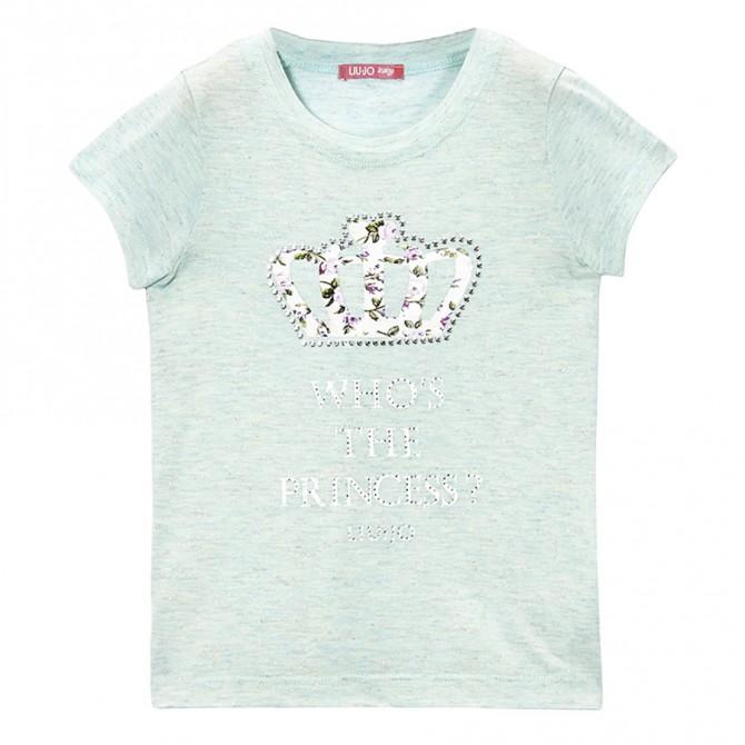 t-shirt Liu-Jo Princess Baby