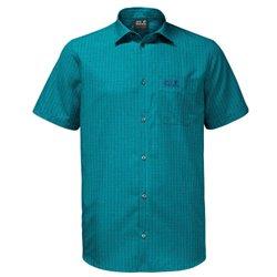 Camicia Jack WolfskinEl Dorado glacier blue checks