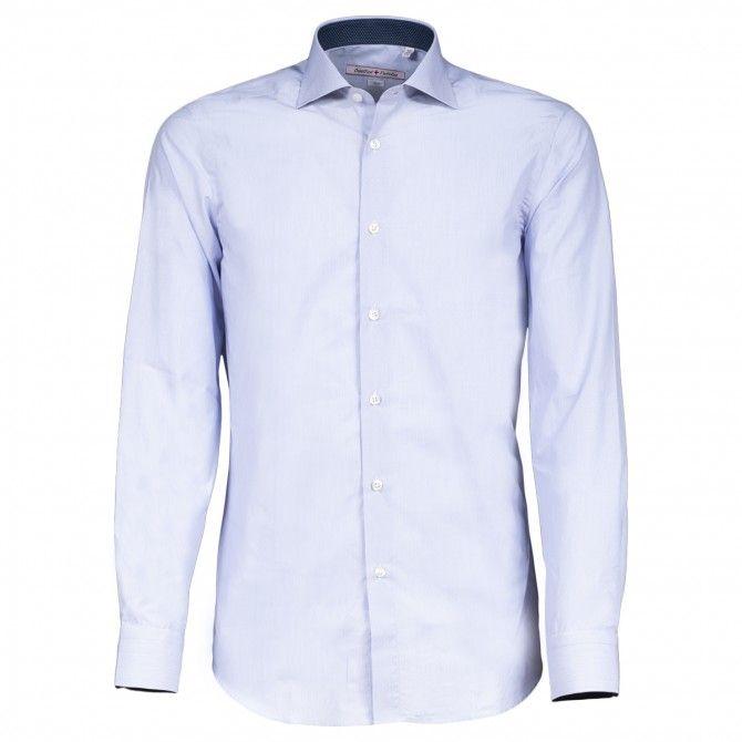 Camicia Canottieri Portofino D61 azzurro-bianco rigato