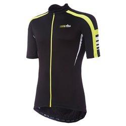 Maglia Ciclismo Zerorh+ ForzaJersey BLACK-YELLOW FLUO-WHITE