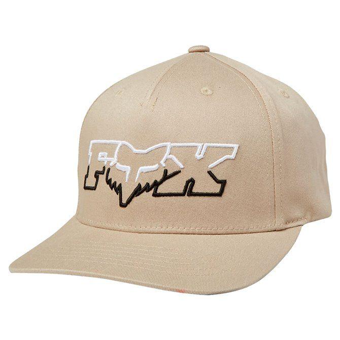 Cappello Fox Duel Head beige