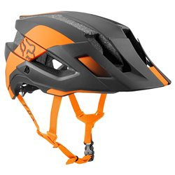 Casco Ciclismo Fox Conduit nero-arancione