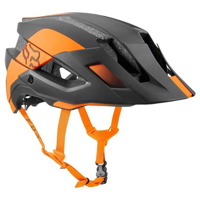Casco Ciclismo Fox Conduit nero-arancione