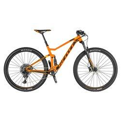 Bici Scott Spark 960 arancione-nero