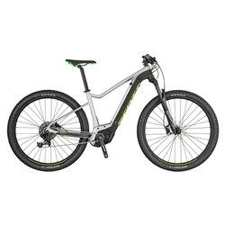 Bici Scott Aspect eRide 30 grigio-nero-verde fluo