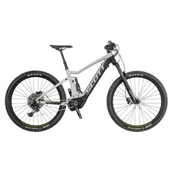 Bici Scott Strike E-ride 730 nero-grigio-verde