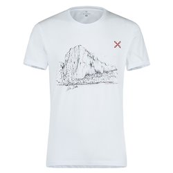 T-shirt trekking Montura Dawn Wall bianco