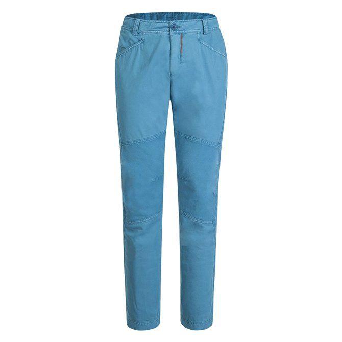 Pantalone trekking Montura M+ blu ottanio-rosso