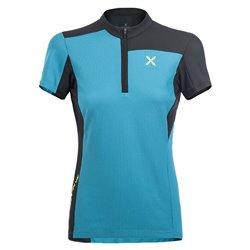 T-shirt ciclismo Montura Selce marine