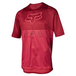 T-shirt Ciclismo Fox Defend nero-arancione