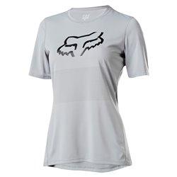 T-shirt Ciclismo Fox rosso