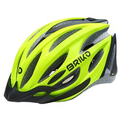 Casco Briko Shire SHINY MATT BLACK