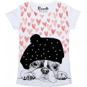 T-shirt Ranpollo Cuori cani
