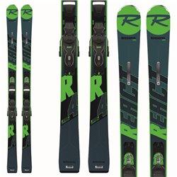 Sci Rossignol React R4 Sport Ca ( Xpress ) + attacchi Xpress 10 B83 verde-blu
