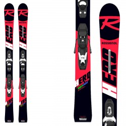 Sci Rossignol Hero Jr Multi- Event ( Kid-X ) + attacchi Kid-X 4 B76