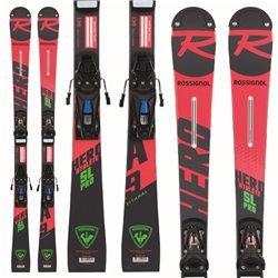 Sci Rossignol Junior Hero Athlete SL Pro con attacchi Nx 7 Jr
