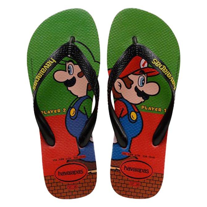 Chancletas Havaianas Mario Bros Hombre