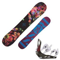 Snowboard Rossignol Meraki Donna con attacchi Voodoo S/M