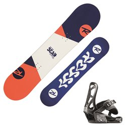 Snowboard Rossignol Scan with bindings Rookie XS