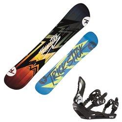 Snowboard Rossignol Trickstick Af avec fixations Viper M/L